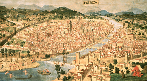 Xiv secolo et dei comuni e rinascimento for Firenze medievale