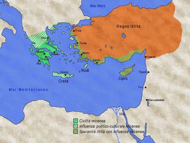 Cartina Geografica Dell Isola Di Creta.Civilta Minoica E Micenea