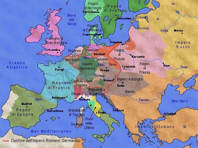 Cartina Europa 700.Il 700 Tra Rivoluzione Industriale E Illuminismo