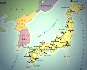 Cartina Muta Del Giappone.Giappone 1945 1965
