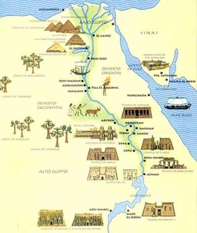 Cartina Dell Antico Egitto Da Colorare.Egitto